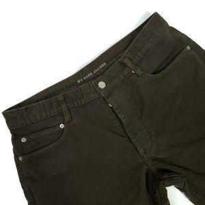 Marc Jacobs Men's Straight Leg Brown Pants Sz 34